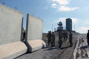 Turkey extends wall on border area