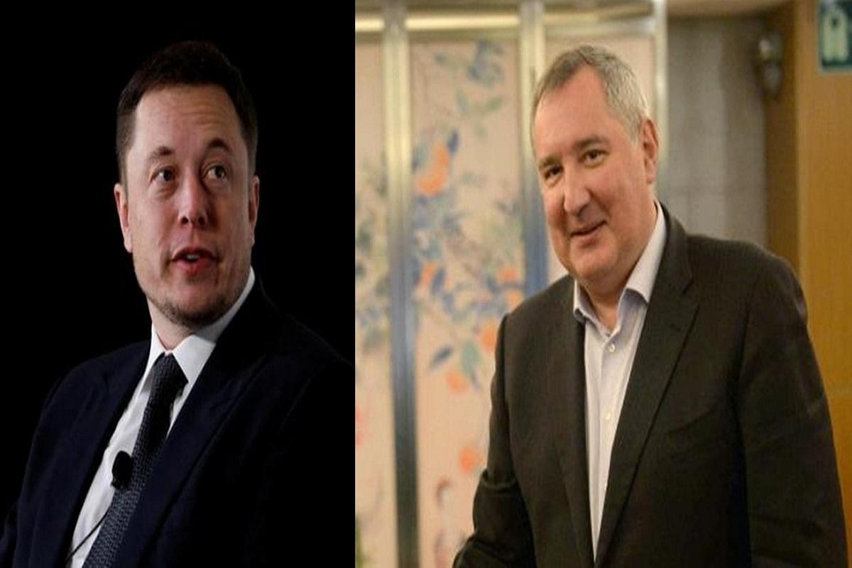 SpaceX, Elon Musk, Roscosmos, Dmitry Rogozin