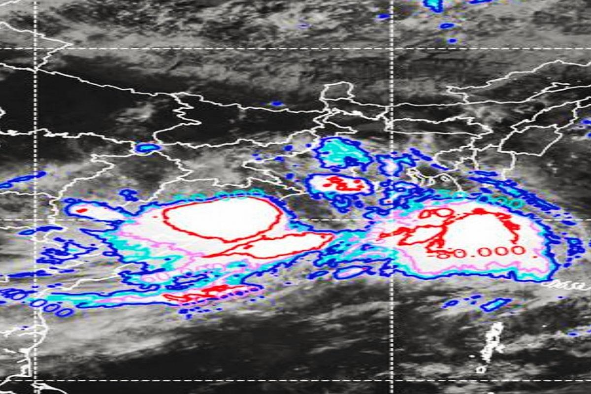 Massive rainfall, Odisha, Chhattisgarh, Madhya Pradesh, IMD