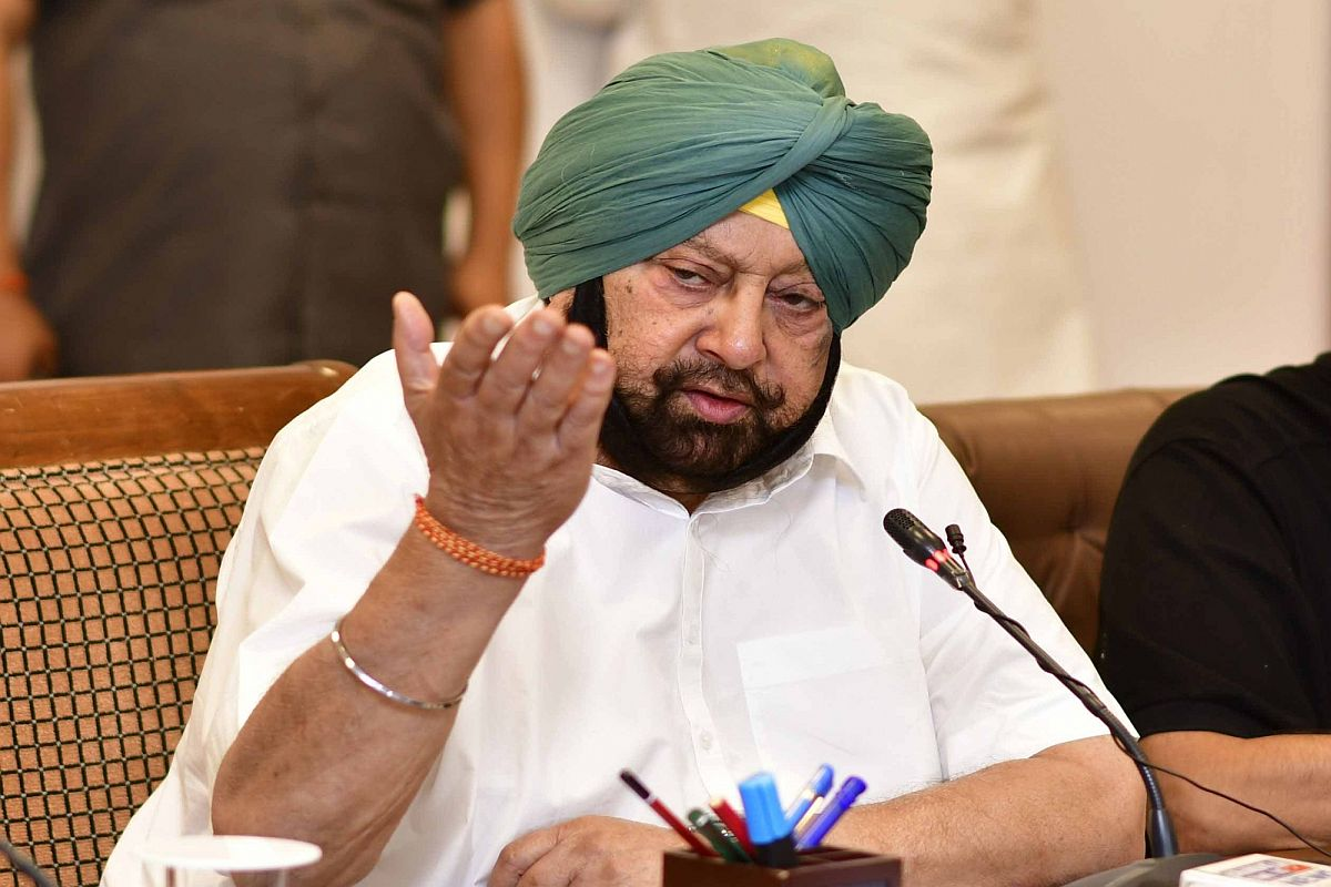 Punjab Congress chief, Navjot Sidhu, Amarinder Singh, unstable man
