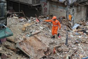 Owner held in Delhi building collapse case