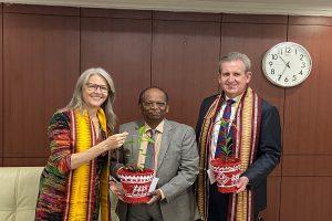 NALCO-Australian delegation talks on business initiatives