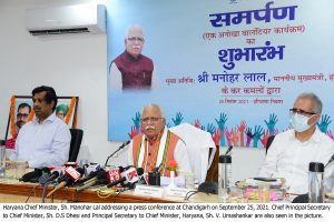 Opposition creating nothing but anarchy with negative environment over farm laws: Khattar