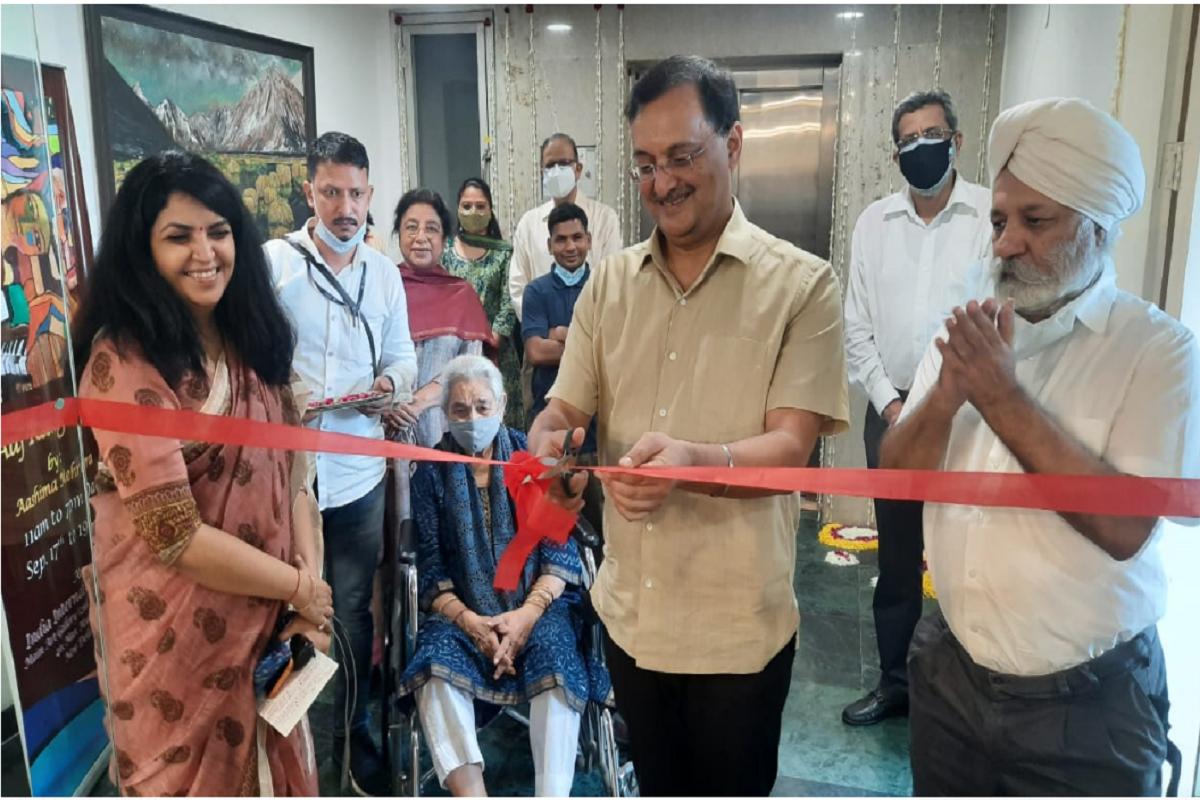 Aaj Rang Hai, Aashima Mehrotra, art exhibition