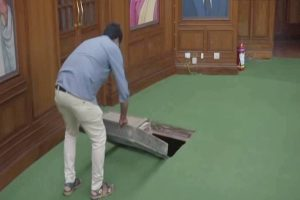 'Mysterious' tunnel found in Delhi Assembly, to open for public soon