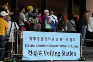 Hong Kong begins first polls after shake-up of electoral system