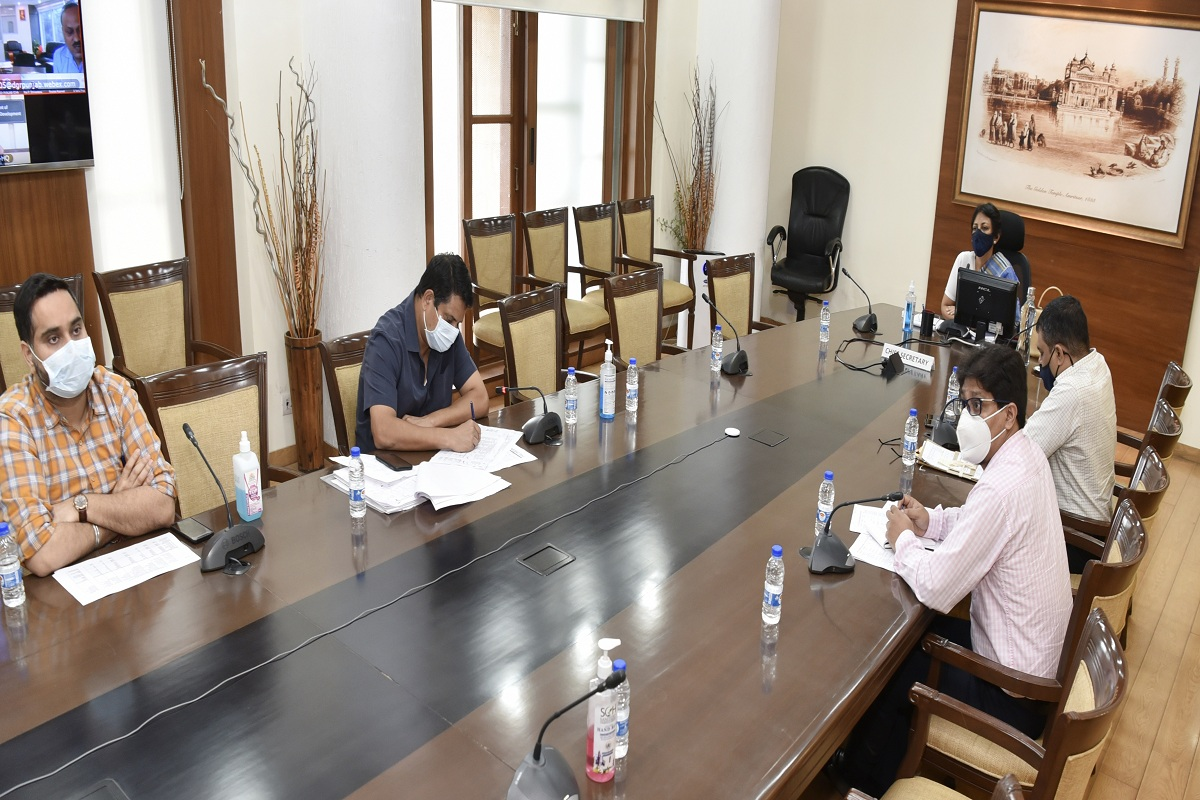 2022 Punjab Assembly polls, Captain Amarinder Singh, Mega Recruitment Drive