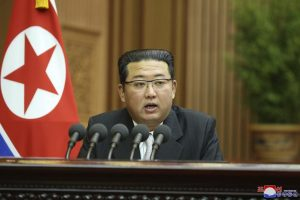 North Korea's Kim seeks better ties with South, but slams US