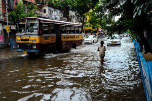 KMC slogs in flooded Bhawanipore day before bypoll, worried EC enquires