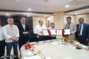 NTPC REL signs its first ever Green term Loan with the Bank of India