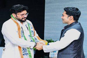 "Sulking Supriyo joins TMC weeks after ""quitting politics"" remark"