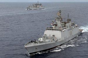 Amid China's posturing in high seas, India, Australia begin naval exercise