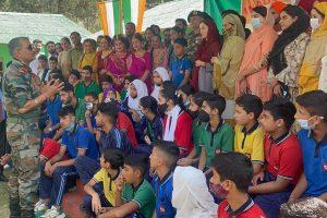 Ten Army Goodwill Schools digitised in Kashmir