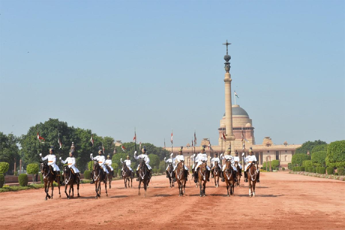 Rashtrapati Bhavan, Change of Guard Ceremony,