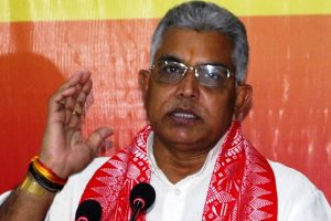 BJP national VP Dilip Ghosh attacked by TMC workers in Bhawanipore