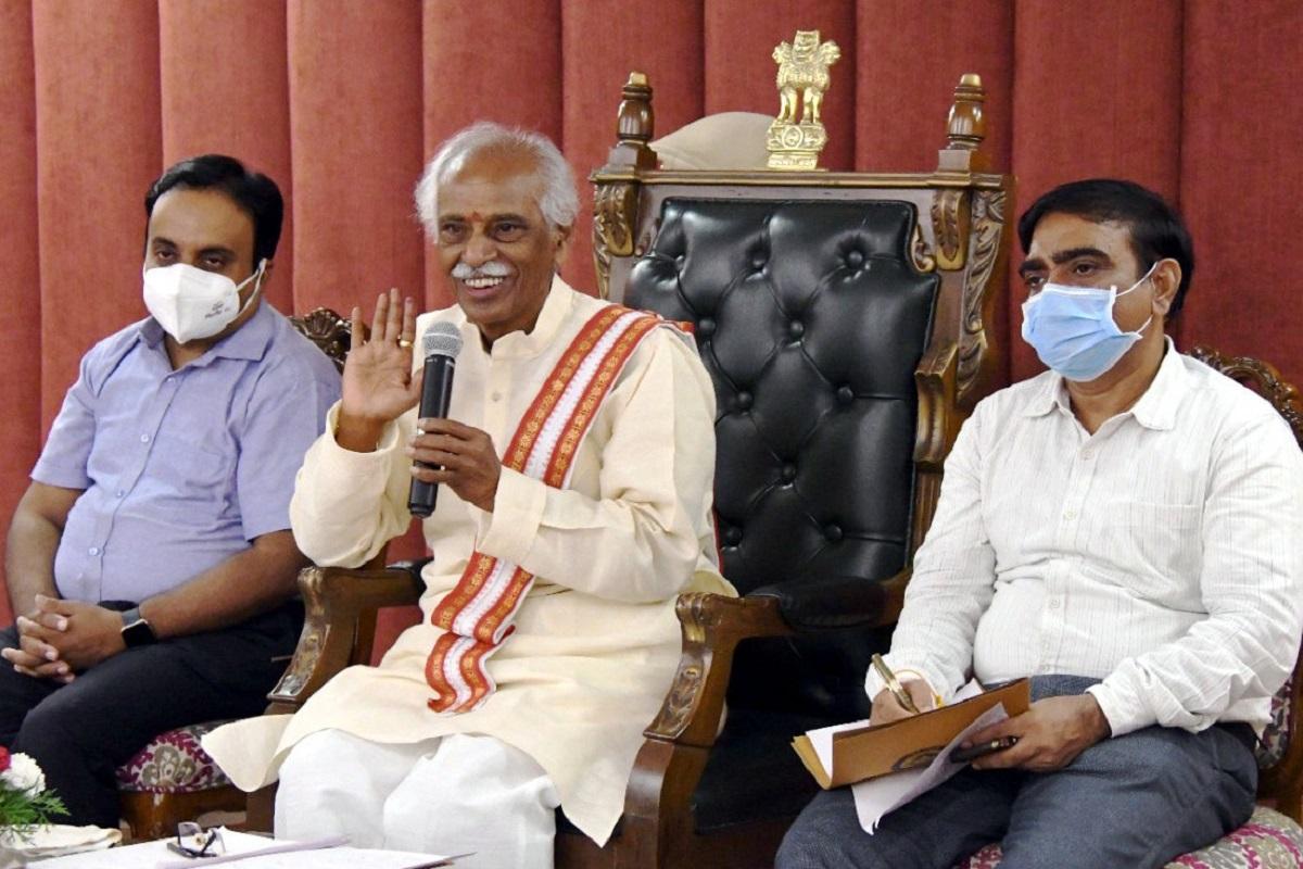 Haryana Governor, farmers' agitation, Bandaru Dattatreya