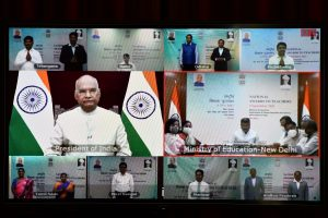 President Kovind confers National Awards on teachers