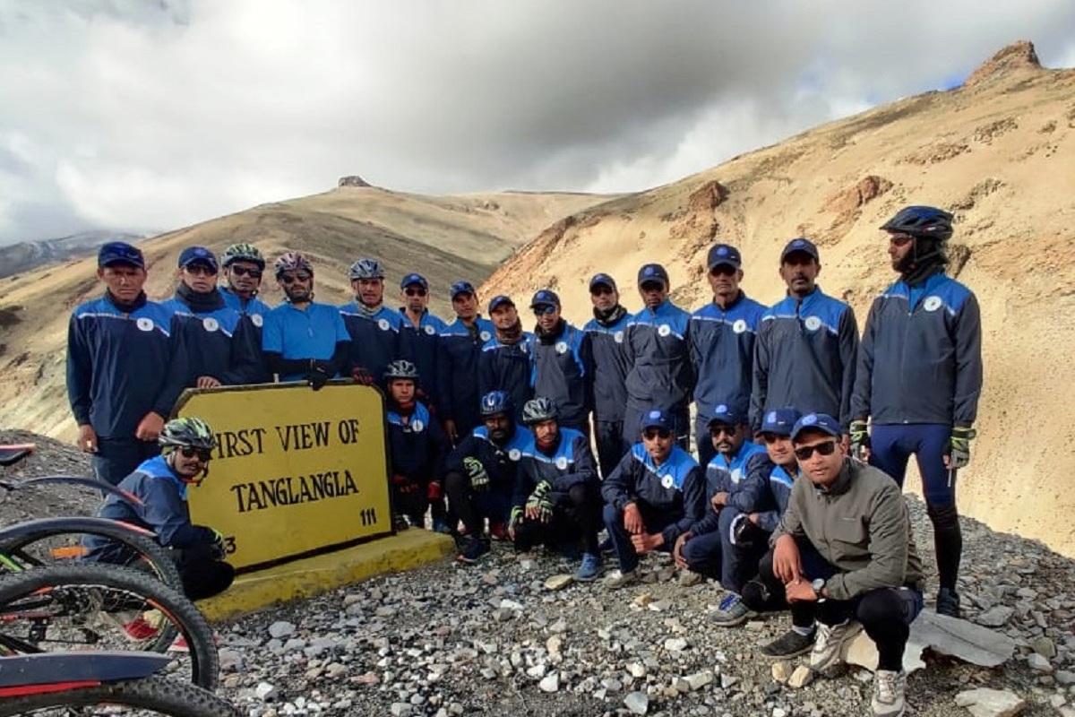 Ladakh, statue of unity, ITBP