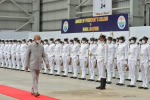 President hails Indian Navy's assistance to maritime neighbours during COVID