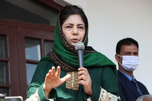 Mehbooba accuses Govt of turning Kashmir into open air jail