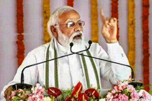 PM Modi says goonda and mafia raj in UP replaced by development initiatives of Yogi Adityanath govt