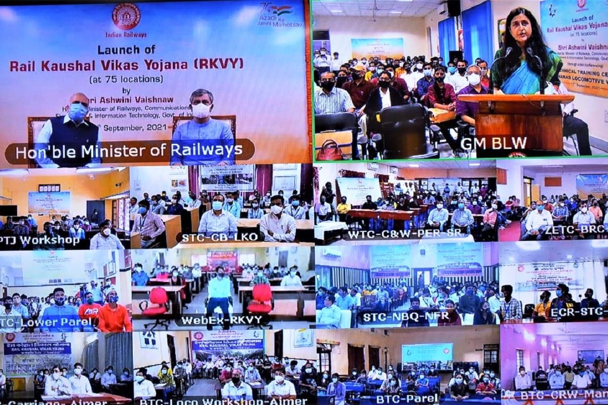 Railways, Railway training institutes, Indian Railways, Rail Kaushal Vikas Yojana