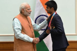 PM Modi expresses happiness over Indian Para badminton players winning Gold and Silver at Tokyo Paralympics