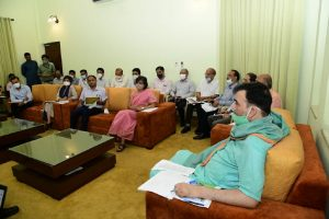 Gopal Rai holds meeting with officials to prepare winter action plan for controlling pollution