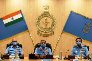 IAF chief asks his commanders to enhance operational preparedness