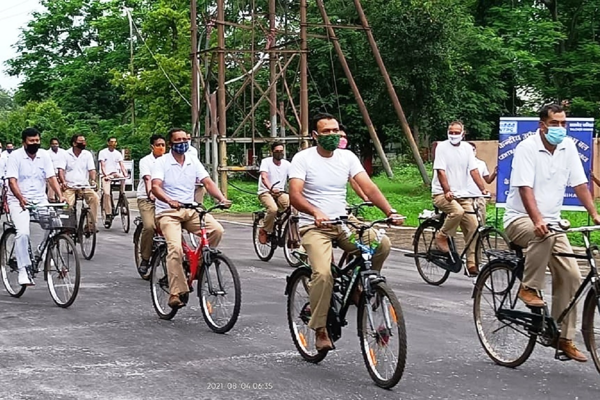 Azadi ka Amrit Mahotsav, CISF, cycle rallies