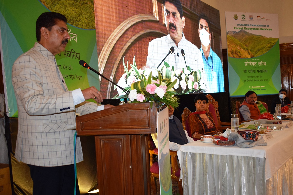forest cover, Himachal Pradesh government, Rakesh Pathania, Himachal Forest Ecosystem Services Project