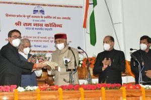 Centre, state must develop mechanism to prevent landslides: President Kovind