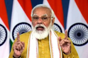 PM pays tributes to Mahatma Gandhi