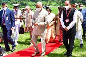 President Kovind arrives in Shimla on 4-day visit