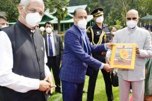 President Kovind returns to Delhi after 4-day HP sojourn