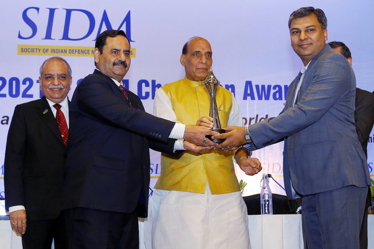 India, Rajnath Singh, Society of Indian Defence Manufacturers, SIDM