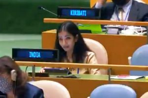 India slams Imran at UNGA; calls Pakistan an 'arsonist'
