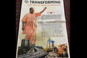 Mahua Moitra taunts Yogi Adityanath over newspaper ad highlighting achievements of UP govt; newspaper issues corrigendum
