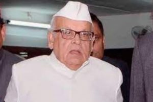 Former Governor Aziz Qureshi booked for sedition in UP