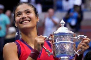 Raducanu emerges new US Open women's champion in an all-teen affair