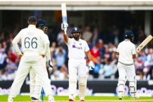 Fourth Test: Rohit Sharma's gritty ton puts India ahead