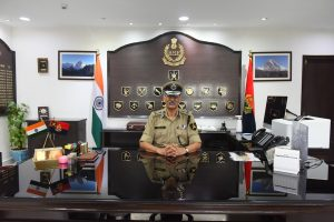 DG BSF reviews situation on border with Pakistan