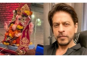 SRK bids farewell to 'Ganpati Bappa'