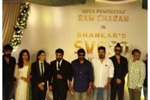 Ranveer at launch of Ram Charan-Kiara's upcoming film