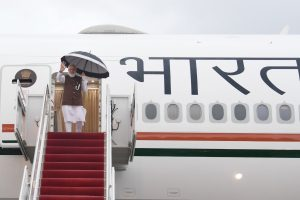 Thousands of BJP workers to welcome Modi at airport on return from US