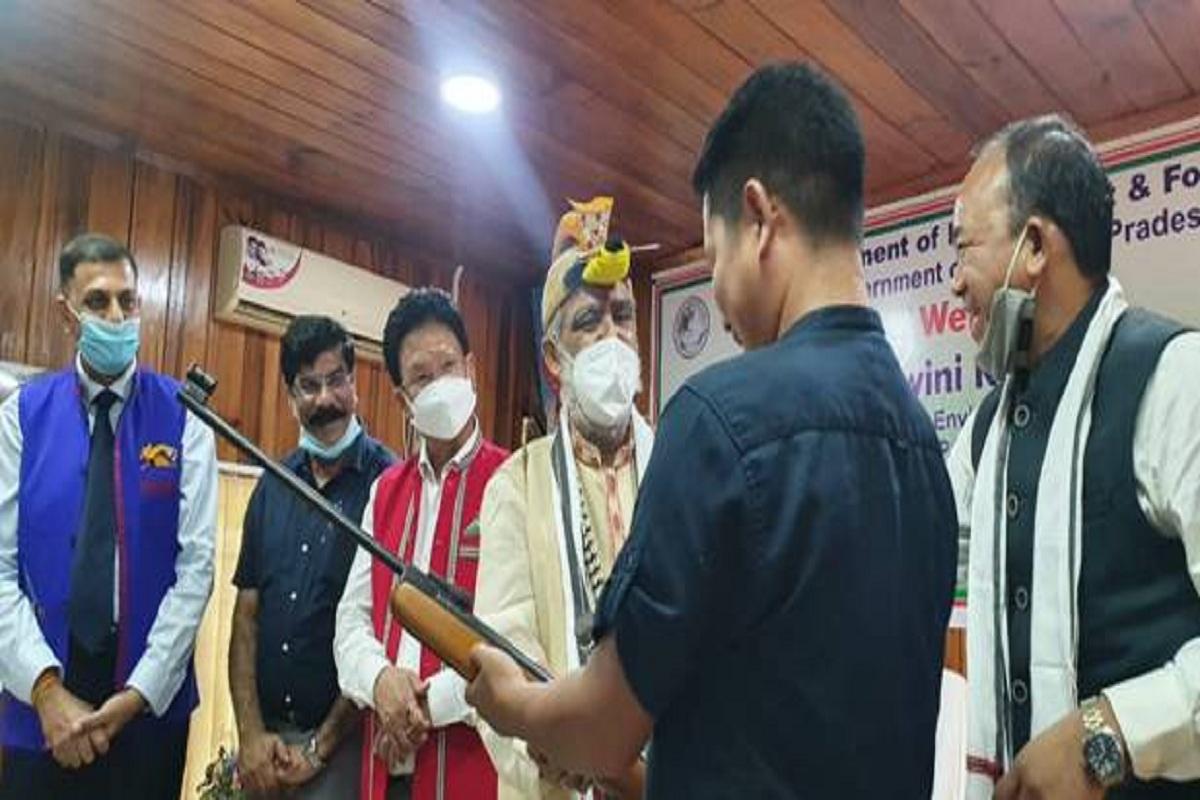 Air gun Surrender, Union Forest Ministry, Ashwani Kumar Choubey