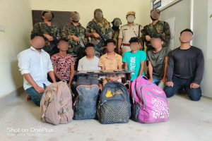 Army busts ULFA-I recruitment module, apprehends seven Myanmar-bound youth