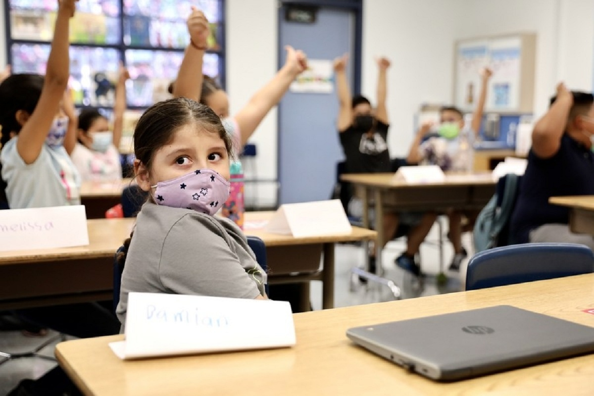 Mandatory school masks prevented Covid cases among kids: CDC