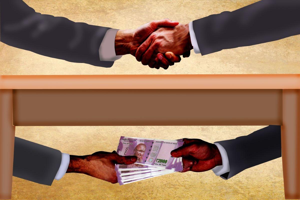 revenue official, Anti-Corruption Bureau, bribe