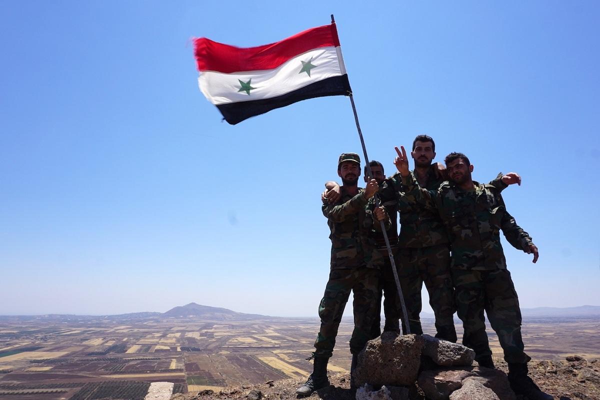 Syrian Army, Daraa, Russian military